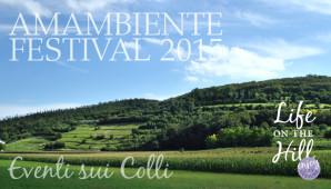 Amambiente Festival 2015 - Colli Berici