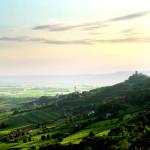 Veduta dalla Pineta di Brendola - Colli Berici