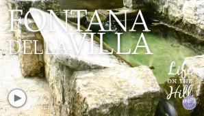 A Villa di Fimon c'è una fontana che ha cent'anni