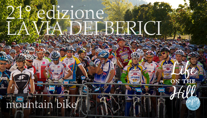 La Via dei Berici - la partenza - mountain bike