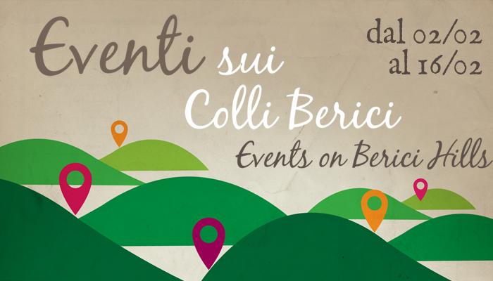 Eventi sui Colli Berici dal 2 al 16 febbraio
