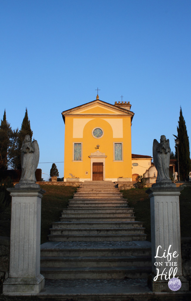 Oratorio della Beata Vergine - interna - Colli Berici