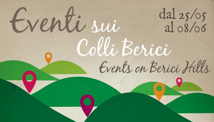 Eventi sui Colli Berici 25 maggio 8 giugno