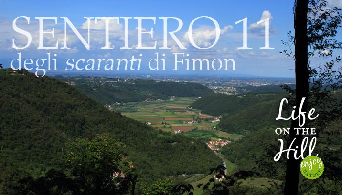 Sentiero 11 degli scaranti di Fimon - Colli Berici