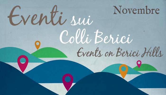 Eventi sui Colli Berici - Novembre