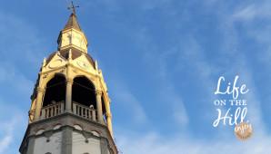 Il campanile di Perarolo sui Colli Berici