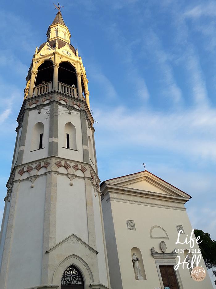 Il campanile di San Gottardo interna