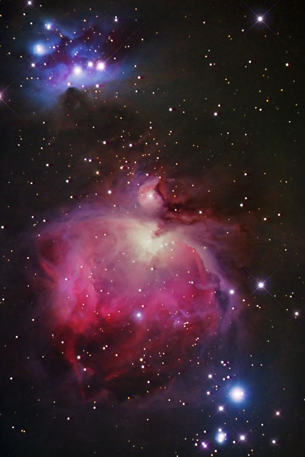 Nebulosa di Andromeda vista dai Colli Berici