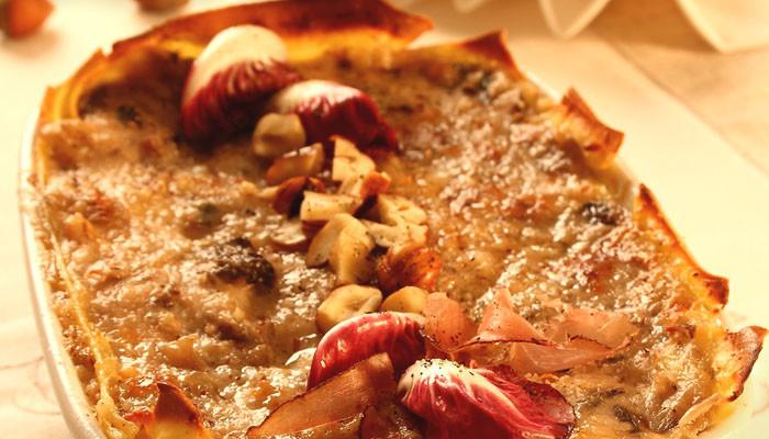 Lasagne al radicchio di Asigliano