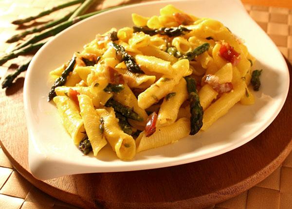 Pasta agli asparagi verdi o selvatici dei Colli Berici