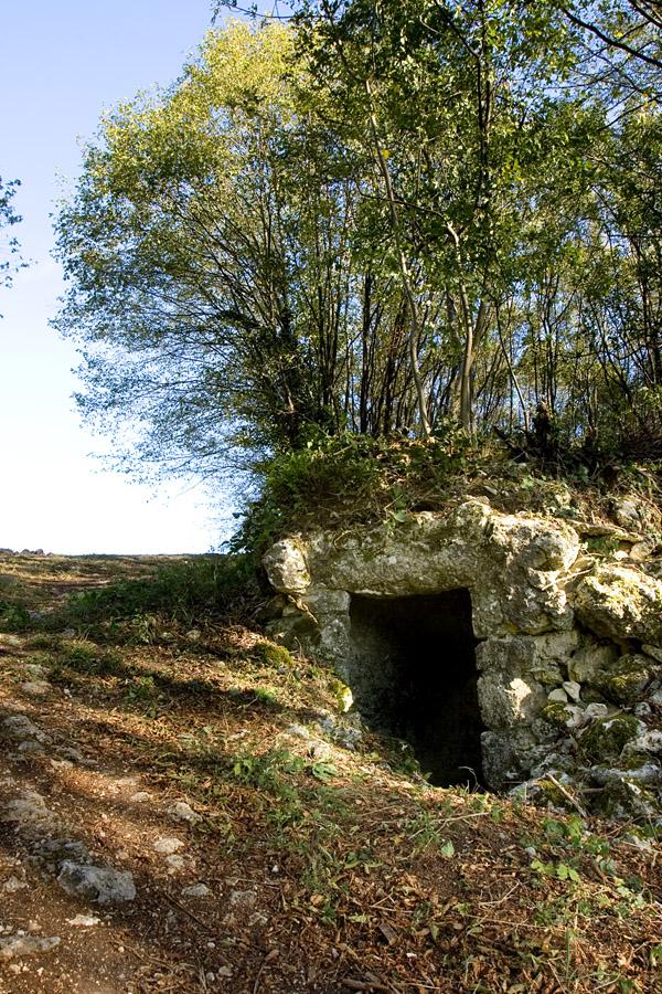 Sentiero 71 Della Cengia Colli Berici - postazione di guardia