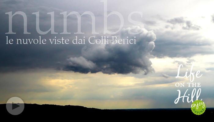 Le nuvole viste dai Colli Berici