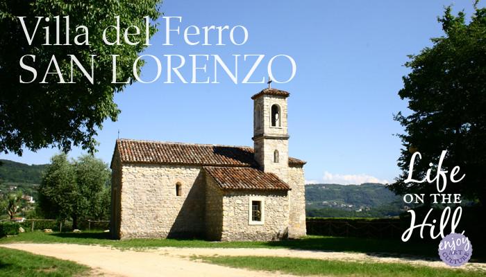 Oratorio San Lorenzo, Villa del Ferro - Colli Berici