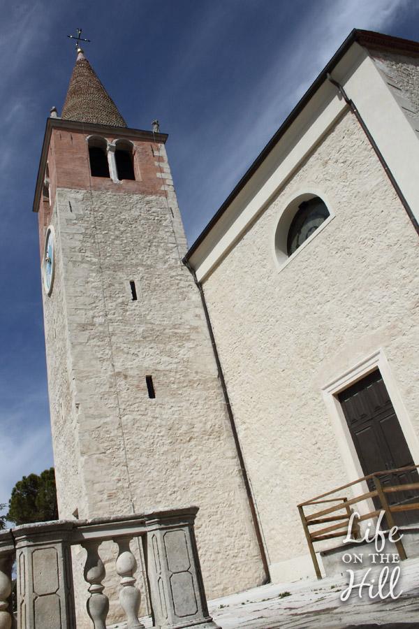 Chiesa S.Maria Orgiano - Colli Berici - campanile