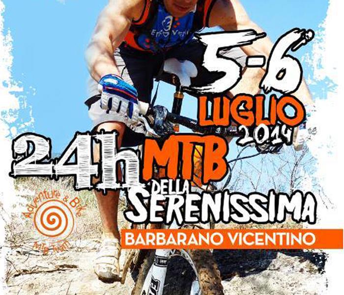Mountai Bike 24 ore Serenissima locandina