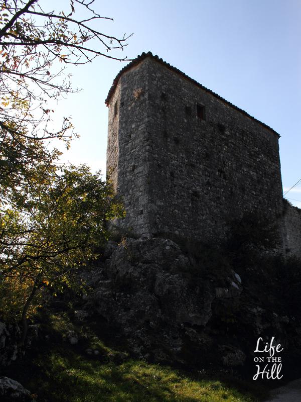 Il Castello di Zovencedo sui Colli Berici