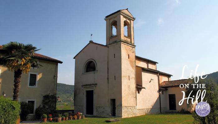 Antica chiesa benedettina di San Vito - interna - Colli Berici