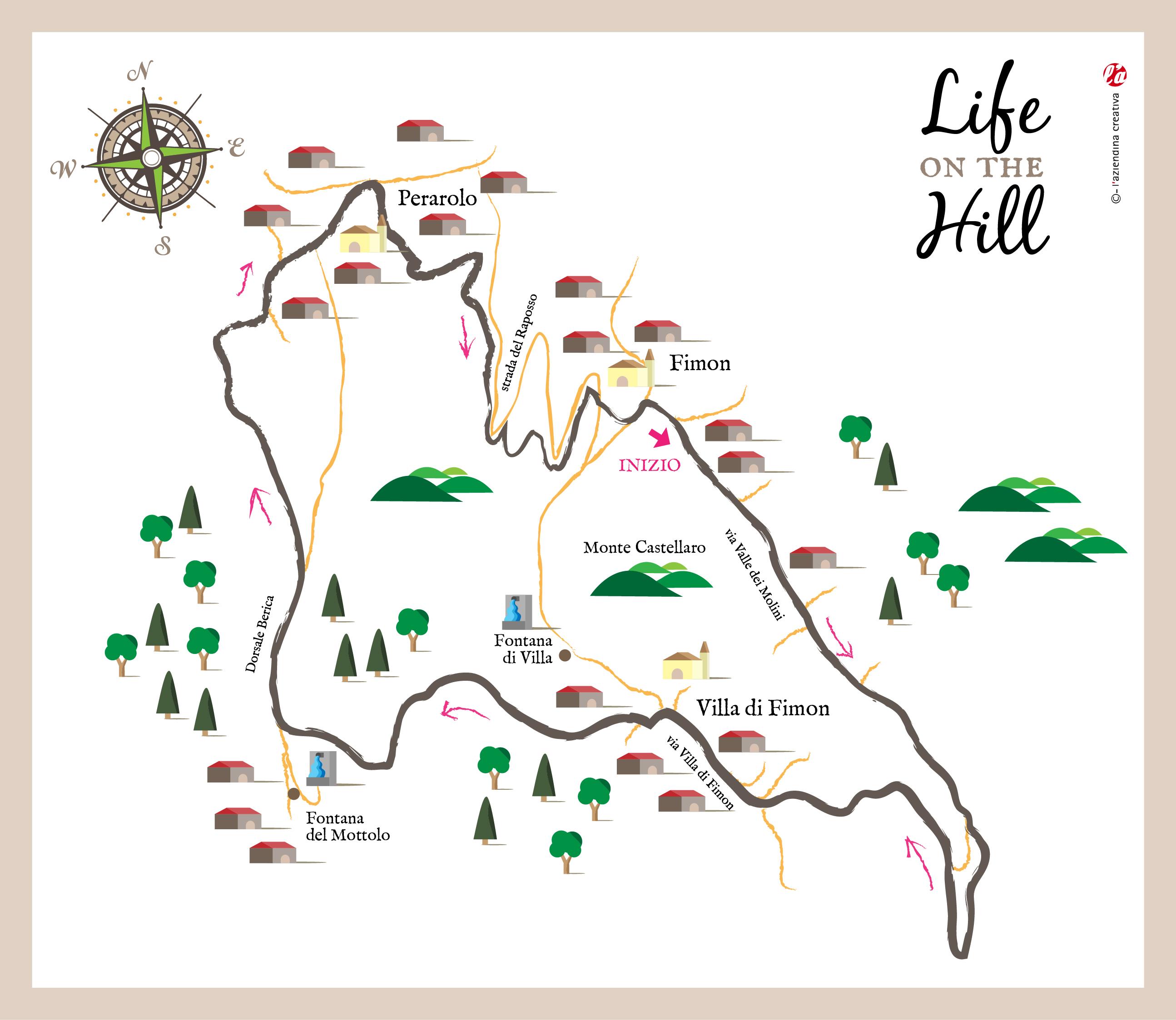 Sentiero 11 dei Colli Berici - degli scaranti di Fimon